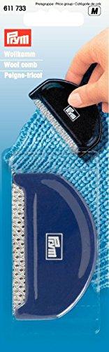Prym 611733 Wollkamm aus Kunststoff, pflaumenblau, VE5