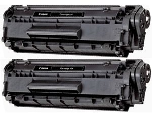New Compatible 104 Black Laser Toner Cartridge for Canon Printers (2 Pack), Office Central