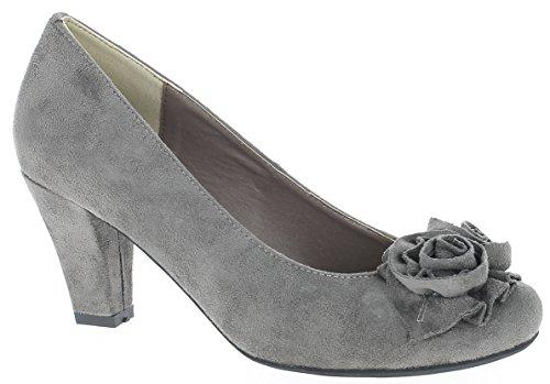 Andrea Conti - Zapatos de vestir para mujer * * pardo