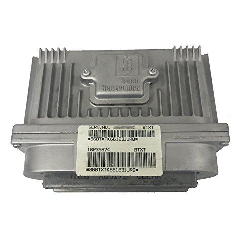 Ecu Ecm Engine Computer - 1996-1999 Cadillac Deville Engine Computer Serv. No. 16214848