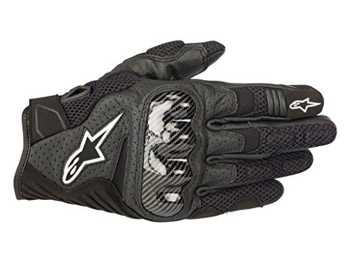 Alpinestars SMX-1 Air V2 Motorcycle Riding/Racing Glove (X-Large, Black)