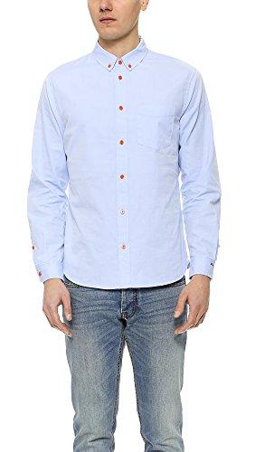Marc by Marc Jacobs Men's Oxford Shirt, Light Blue Multi, Large
