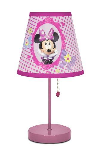 Disney Minnie Mouse Bow-tique Table Lamp]()