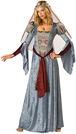 Lady of Camelot Renaissance Queen Maiden Fancy Dress Up Halloween Adult Costume
