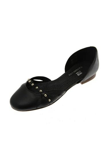de para mujer Ramosport negro Piel negro Bailarinas negro OCFgwqxzng