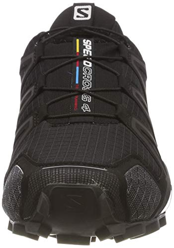 Textil black Hombre Y – Running Zapatillas Salomon 0 Speedcross Metallic black Trail Black Sintético 4 Para De 0XnFFxYZ