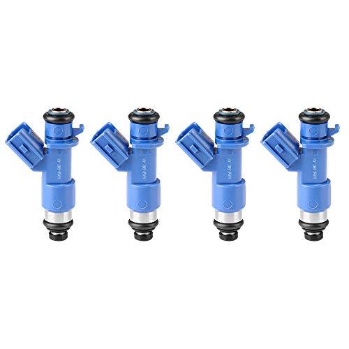 ECCPP Fuel Injectors 4pcs 12 Holes Fuel Injector Kits 16450-RWC-A01 fit for 1990-2001 Acura Integra 1996 1997 1998 1999 2000 2002 2003 2004 2005 Honda Civic 2002-2006 Acura RSX