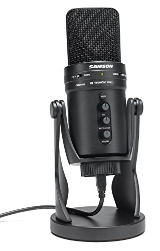 Samson G-Track Pro Studio USB Condenser Mic, Black by Samson Technologies (Image #8)