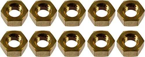 Dorman 03424 Brass Exhaust Nut, 10 (Brass Exhaust)