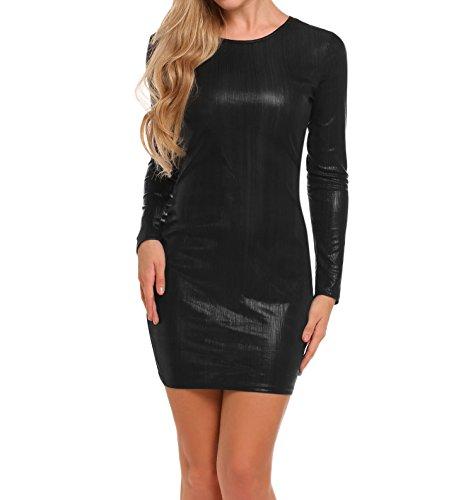 Sheer Little Black Dress - 6