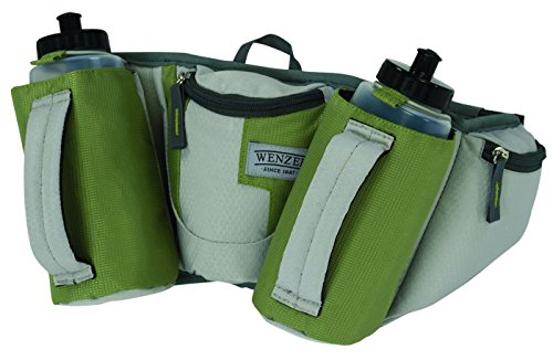 wenzel-freerun-two-bottle-waistpack-green-grey