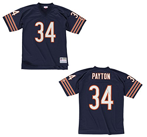 (Mitchell & Ness Walter Payton Chicago Bears Throwback Jersey X-Large)