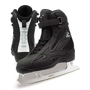 Jackson Softec Elite Ice Skates - ST3902 Mens Black Figure Ice Skates Size Mens 11