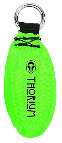Thorium Multi layer Outdoor Slingshot Launcher Arborist Throw Weight Bag Pouch Bright Green 16oz/450g