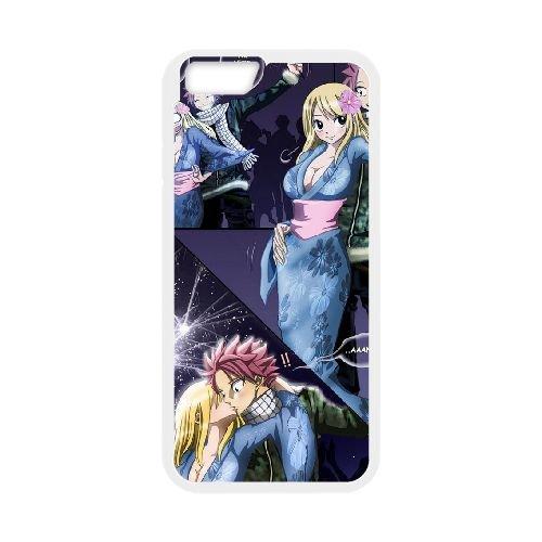 Fairy Tail 009 coque iPhone 6 Plus 5.5 Inch Housse Blanc téléphone portable couverture de cas coque EOKXLLNCD14818