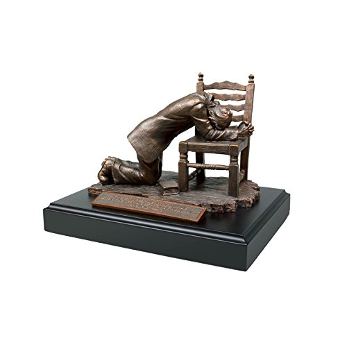 Lighthouse Christian Products Moments of Faith Praying Man Sculpture, 5 3/8 x 7 3/4""