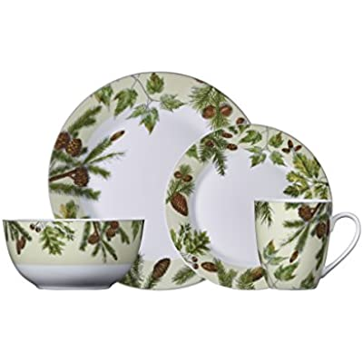 Click for Pfaltzgraff Painted Forest 16-Piece Dinnerware Set, Service For 4