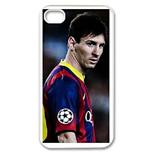iphone4 4s White Lionel Messi phone cases protectivefashion cell phone cases HYQT5833580