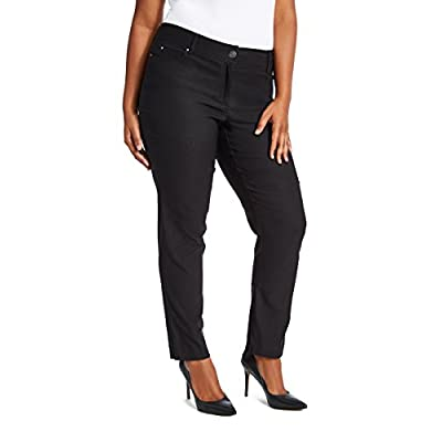 89TH&Madison Ultra Flattering Five Pocket Stretch Straight Leg Pants for sale