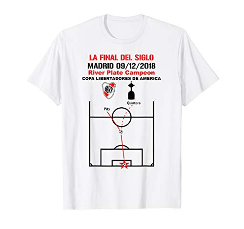 La Final del Siglo Shirt River Plate Campeon de America