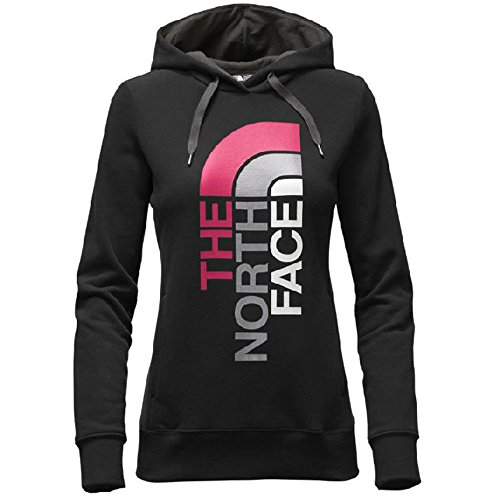 womens-the-north-face-trivert-logo-pullover-hoodie-tnf-black-asphalt-grey-multi-size-small