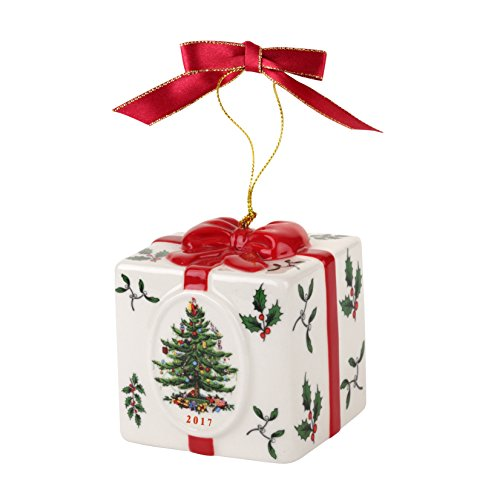 Spode Christmas Tree Annual Edition Ornament, Holiday Gift Box