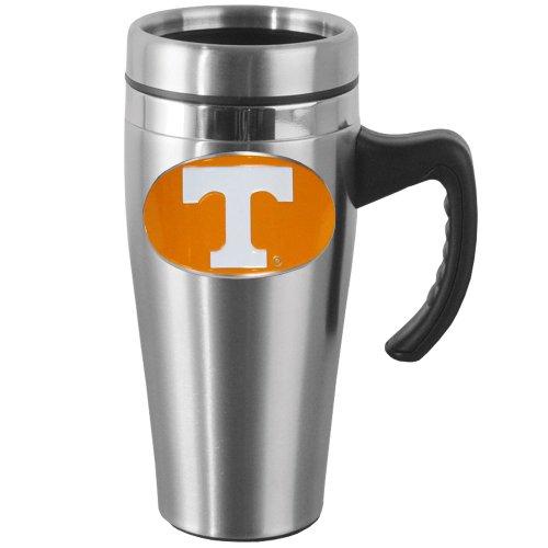(NCAA Tennessee Volunteers Steel Travel Mug with Handle)