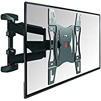 Vogels TV Wall Mount, Swivel and Tilt - BASE 45 L for 40 to 65 inch TVs, Black