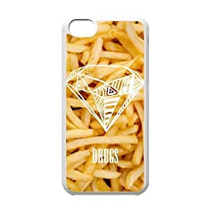WEUKK French Fries iPhone 5C shell case, custom cover case for iPhone 5C French Fries, custom French Fries cell phone case