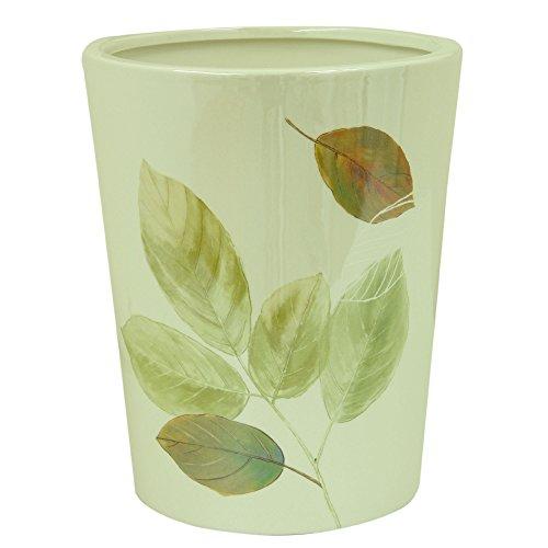 Bacova Guild Wastebasket, Waterfalls Leaves - Fall Leaf Basket