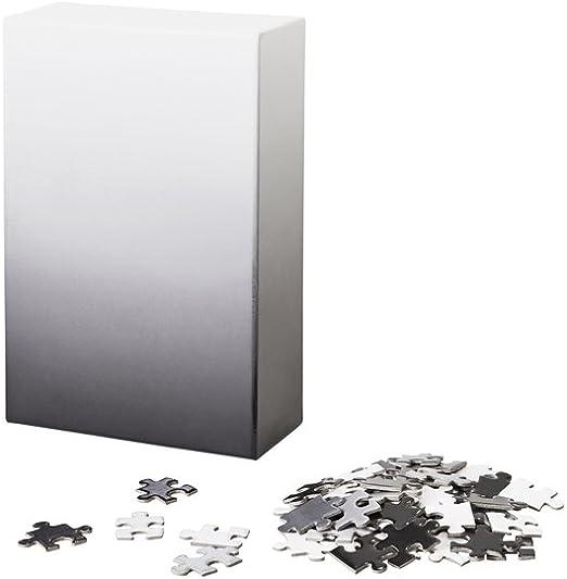 Amazon Com Areaware Gradient Puzzle Black White Home Kitchen