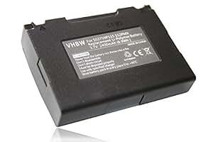 Batería vhbw 2400mAh (3.7V) para navegadores Blaupunkt Travelpilot Lucca 5.3 sustituye 503759P115 1S2PMX.