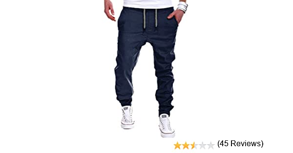 ROBO Pantalones Cargo para Hombres Talla Grande Pantalones Largo ...