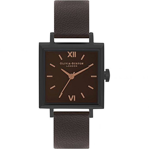 Señoras OLIVIA Burton cuadrado diales reloj ob16ss08