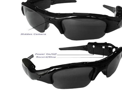 Polarized DVR Video Camcorder Sunglasses for Hikers and Climbers , Electronics & computer