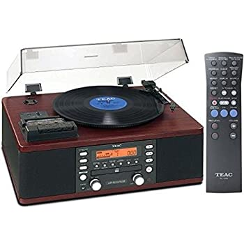 Teac LP-R550USB Cd Recorder Cassette Turntable Walnut