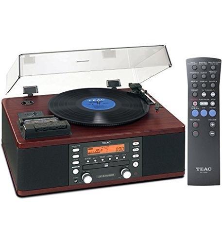 Teac LP-R550USB Cd Recorder Cassette Turntable Walnut