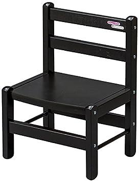 COMBELLE Chaise Basse Laque Noir