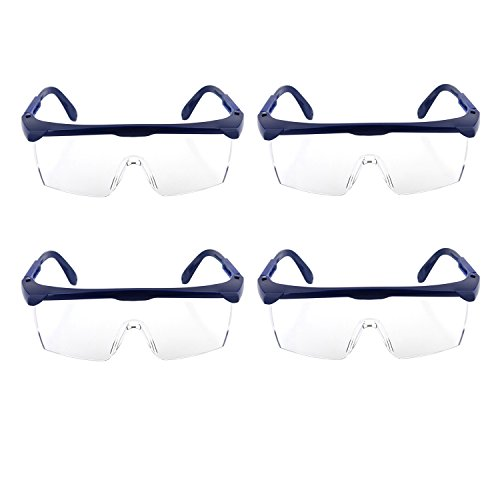 Children's Safety Glasses by GUSTYLE, 4PCS Outdoor Game Protective Goggles Eyewear for Water Gun Game Eye Protection