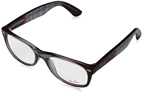 Ray-Ban RX5184 5517 New Wayfarer Eyeglasses Gradient Grey On - Ban Ray 5184