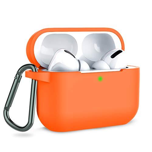 Funda de Silicona para Apple Airpods Pro Vibrant Orange