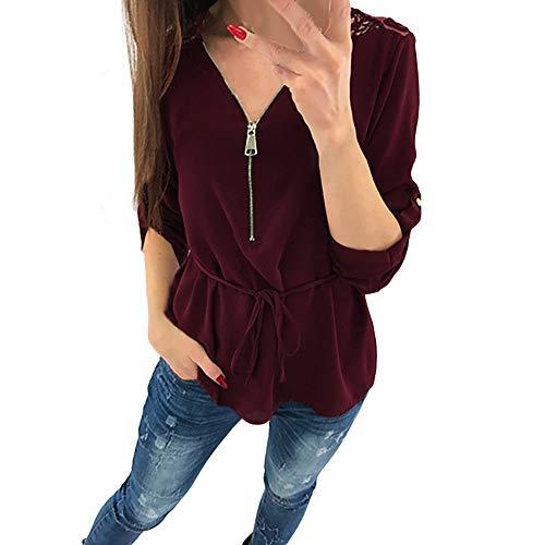 24c049b86 Carolina Panthers Thong. OrchidAmor Womens Lace Casual Tops Shirt Ladies V  Neck ...
