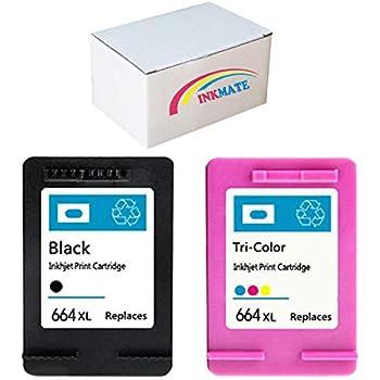 Amazon.com: Tyjtyrjty 2 x 1 Black/1 Tri-Color Compatible for ...
