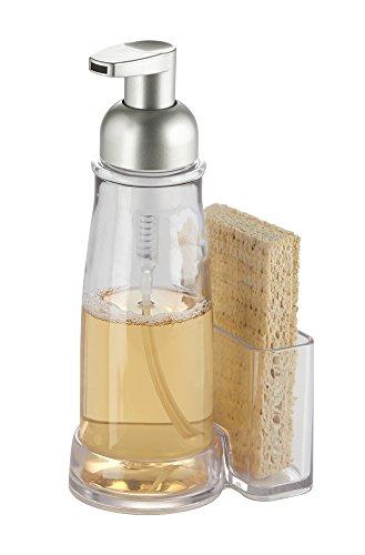 mDesign Foaming Dispenser Sponge Holder