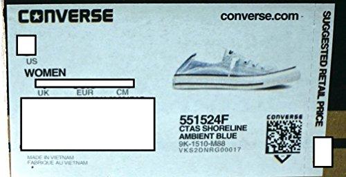 Converse - Zapatillas para hombre 551524F-SHORELINE AMBIENT BLUE