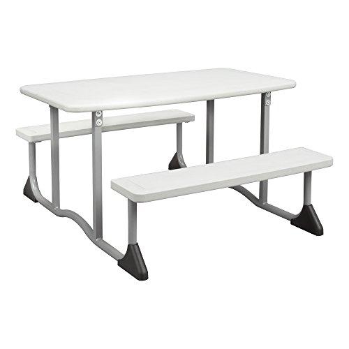 Sprogs Children's Blow-Molded Picnic Table, Gray SPG-FEI1054-SO