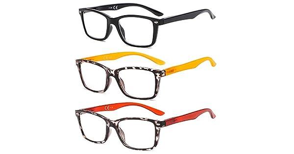 Amazon.com: SUERTREE - Lote de 3 gafas de lectura ...