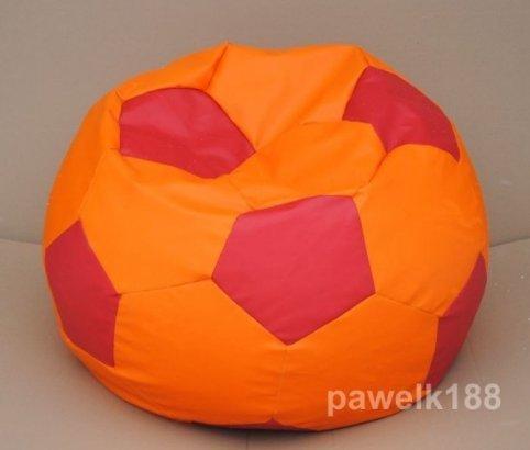 articolicasaonline 100 cm Silla puf de Piel sintética Puff, diseño ...