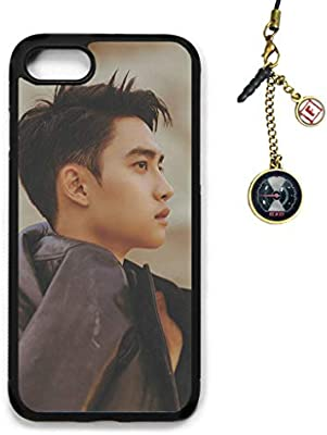 Amazon Com Fanstown Kpop Exo Iphone 7 Iphone 8 Case Don T Mess Up My Tempo Album Logo Pendant H08