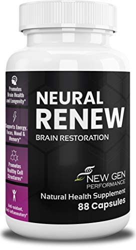 Premium Nootropic Brain Booster Supplement – Supports Health, Energy, Focus, Memory, Mood – Extra Strength Pills – Improve Long & Short Term Health – Anti-oxidant, Anti-inflammatory – by Neural Renew For Sale